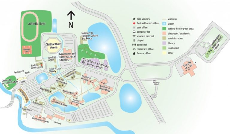 payap campus map
